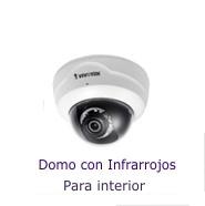 Cámaras Vivotek IP Domo con Infrarrojos
