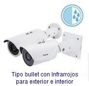 Camaras Vivotek IP para uso exterior con IR