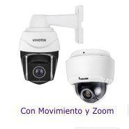 Cámaras Vivotek IP con Movimiento y Zoom