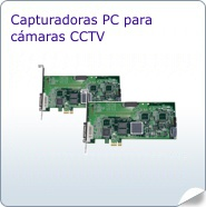 Capturadoras PC para cámaras CCTV