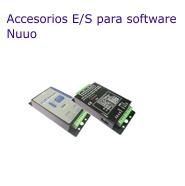 Accesorios E/S para software NUUO