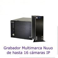 Grabadores NVR para 16 cámaras IP